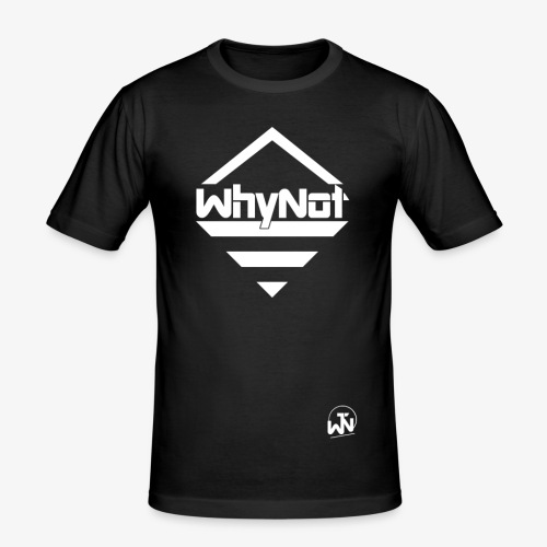 WhyNot Basic | Merch - Männer Slim Fit T-Shirt