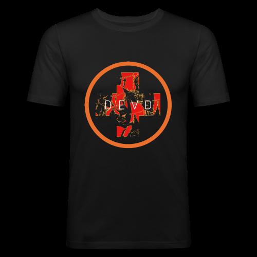 DEAD INARI ORANGE - Men's Slim Fit T-Shirt