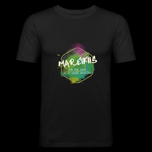 Mareikiis - Männer Slim Fit T-Shirt