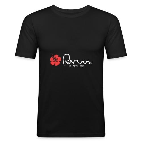 Rivers picture design 2 - T-shirt près du corps Homme