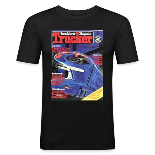 Trucker Cover Nr. 4 - Männer Slim Fit T-Shirt