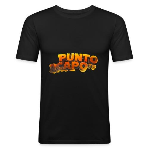 Maglietta PuntoACapo- Original Design- - Men's Slim Fit T-Shirt