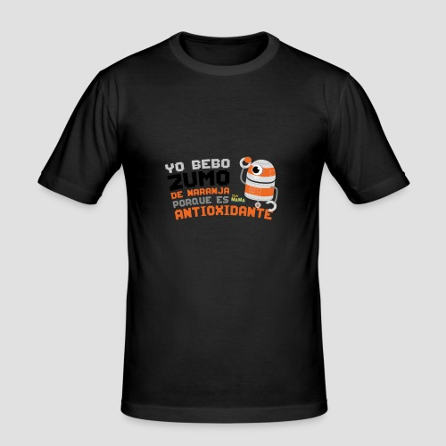 Robot Antioxidante - Camiseta ajustada hombre