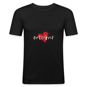 Amo Artogne - Maglietta aderente da uomo