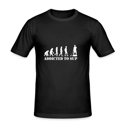 Evolution Addicted to SUP White - T-shirt près du corps Homme