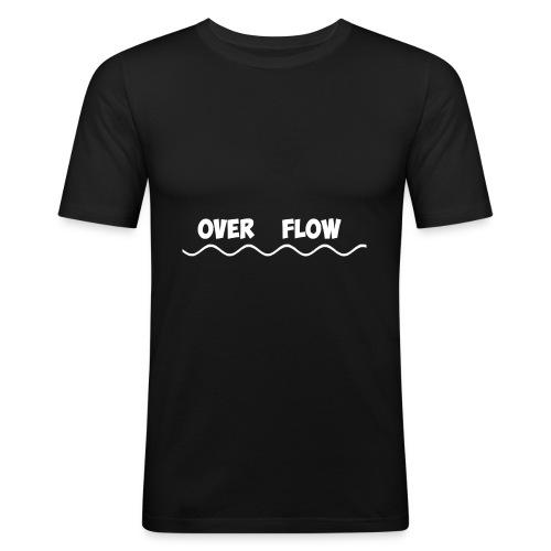 Over Flow - Men's Slim Fit T-Shirt