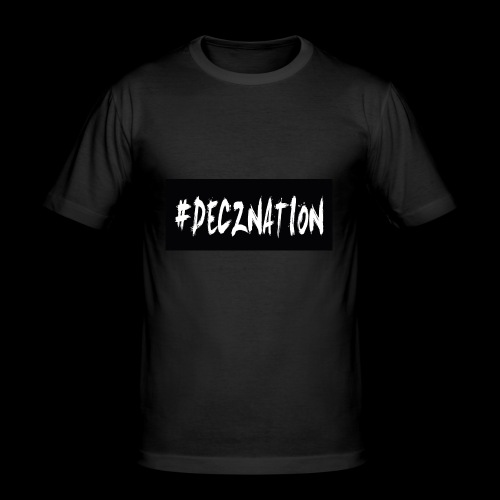 DECZNATION - Men's Slim Fit T-Shirt