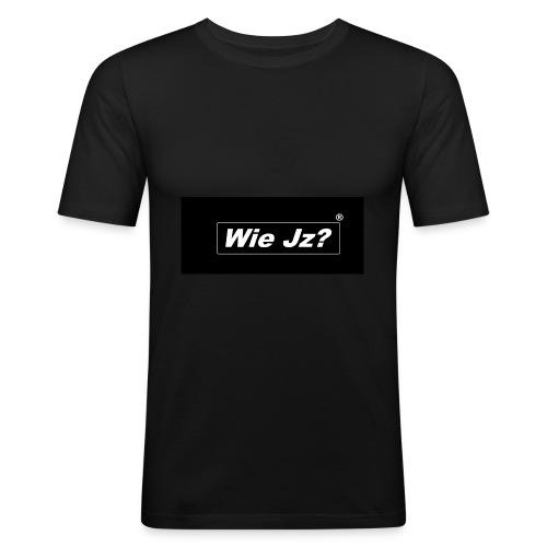 Wie Jz? - Männer Slim Fit T-Shirt
