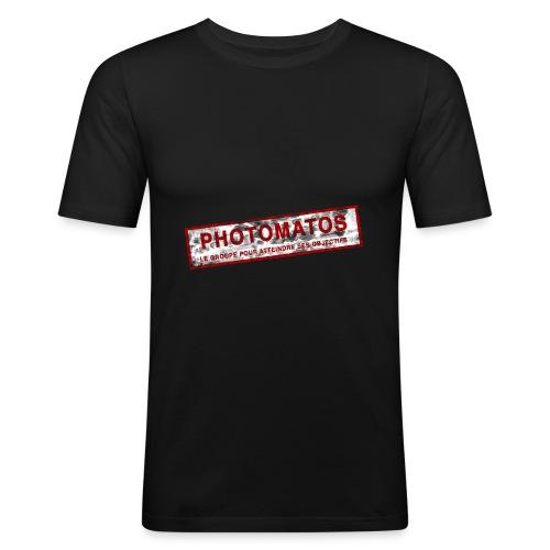 PhotoMatos - T-shirt près du corps Homme