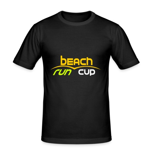 Beach_Run_Cup_d--tour-- - T-shirt près du corps Homme