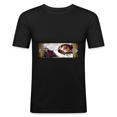 Björns skapelse - Slim Fit T-shirt herr