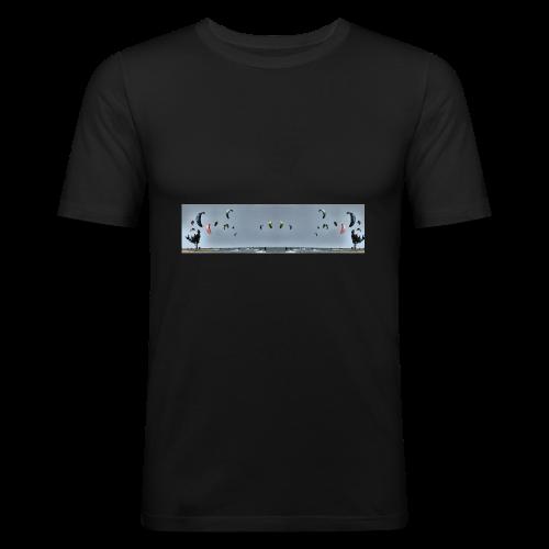 Kitesurfing Mirrorpic - Männer Slim Fit T-Shirt