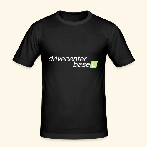 drive center logo - Männer Slim Fit T-Shirt