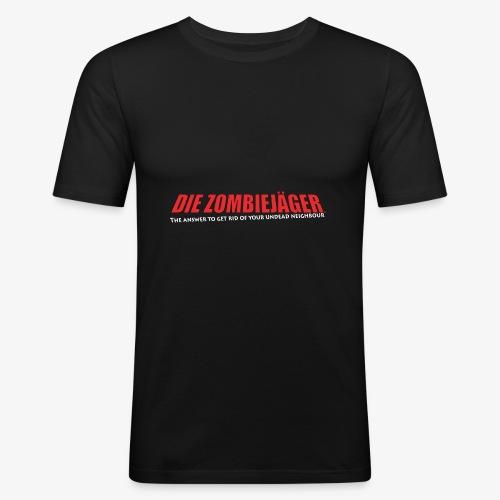 Die Zombiejäger - The Answer - Slim Fit T-shirt herr