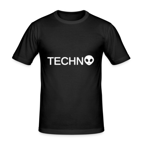TECHNO3 - Slim Fit T-shirt herr