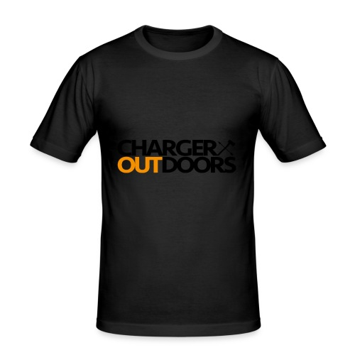 Charger Outdoors Logo - Men's Slim Fit T-Shirt