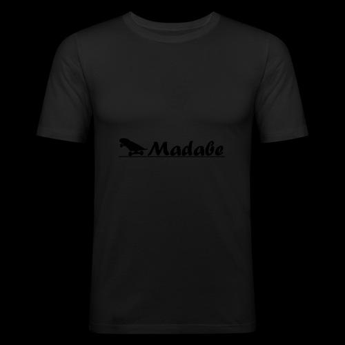 Cap black - Männer Slim Fit T-Shirt
