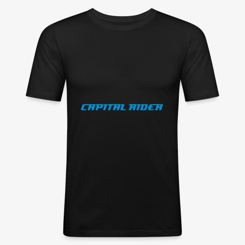 CapitalRider - Männer Slim Fit T-Shirt