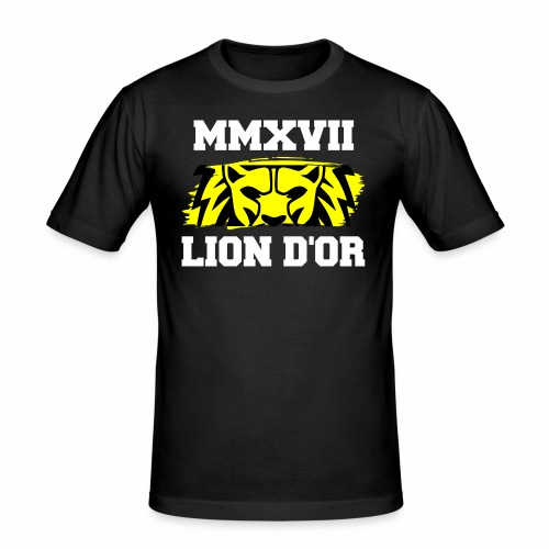 Lion_eyes - Männer Slim Fit T-Shirt