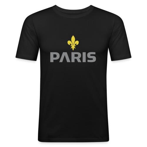 Paris Grey Lys Concept - T-shirt près du corps Homme