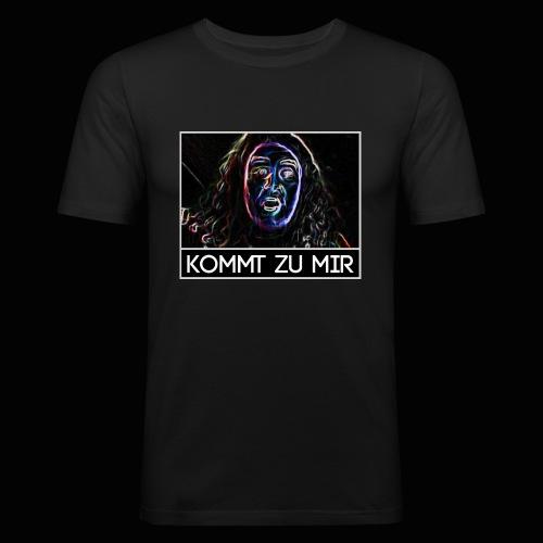 Kommt zu Mir - Drachenlord - Männer Slim Fit T-Shirt