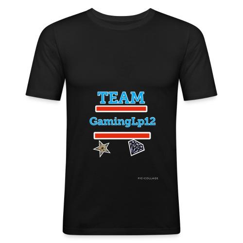 Team GamingLp12 Shirt - Männer Slim Fit T-Shirt