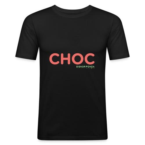 CHOC 2 - Maglietta aderente da uomo