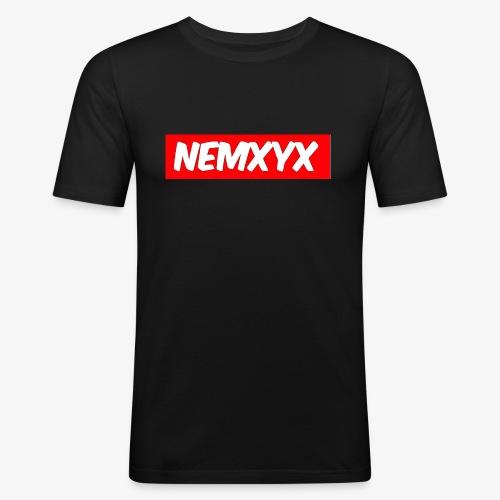 NEMXYX - Maglietta aderente da uomo