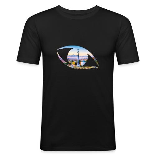 The eye of Barcelona - slim fit T-shirt