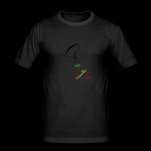 Dayo - Männer Slim Fit T-Shirt
