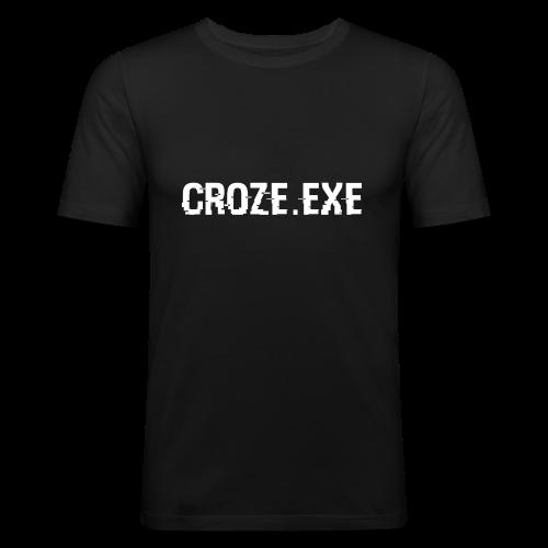 croze.exe - Männer Slim Fit T-Shirt