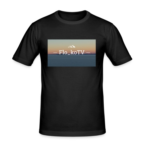 flo_koTV - Männer Slim Fit T-Shirt