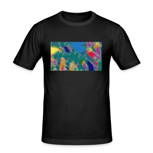 7 - Männer Slim Fit T-Shirt