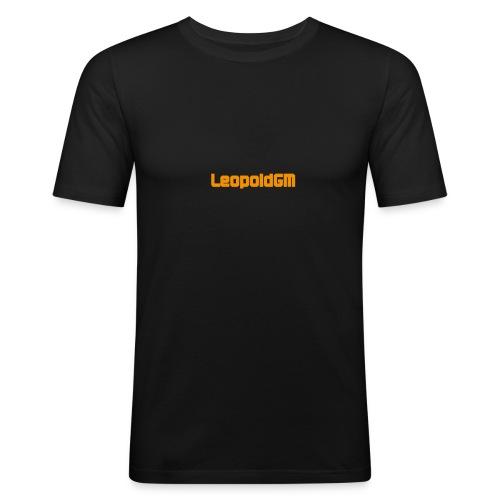 LeopoldGM Hoddie - Männer Slim Fit T-Shirt