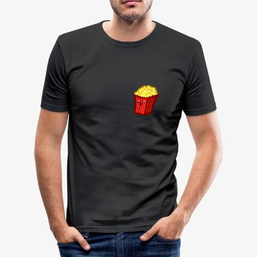 Popcorn Derp 2 - Männer Slim Fit T-Shirt