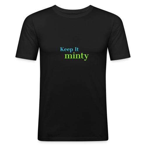 Original minty - Men's Slim Fit T-Shirt