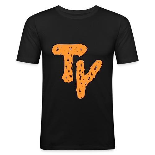 Trepyeah Tiger Halloween - T-shirt près du corps Homme