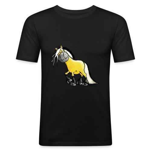 fjord_horse - Men's Slim Fit T-Shirt