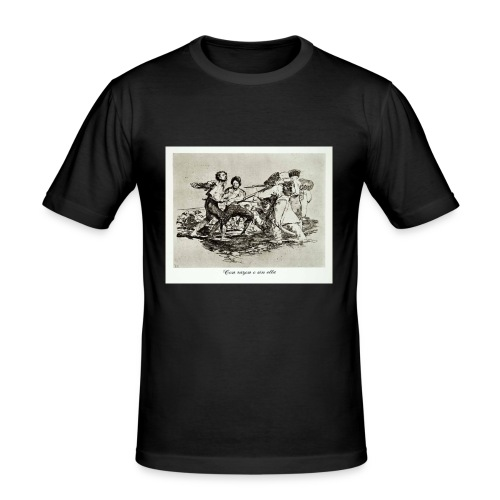GOYA CON RAZON O SIN ELLA - Camiseta ajustada hombre