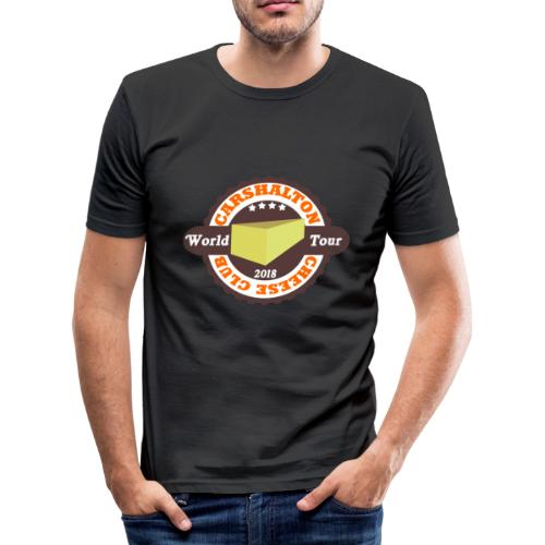 cheese club 2018 - Men's Slim Fit T-Shirt