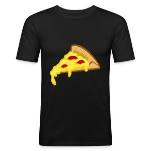 IF IT FITS MY SHIRT PIZZA? - slim fit T-shirt