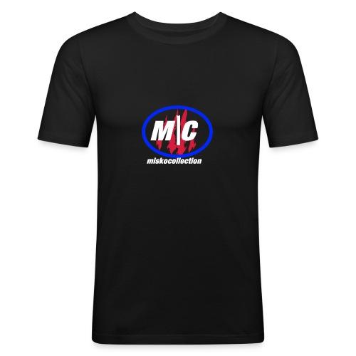 Misko Collection - Männer Slim Fit T-Shirt