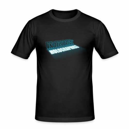 Industrial Holographics - Männer Slim Fit T-Shirt