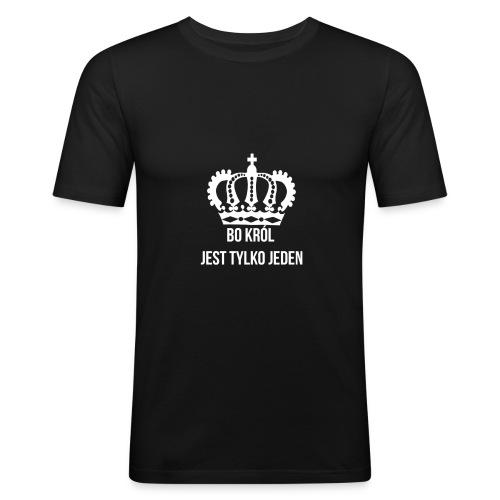 Bo król jest tylko jeden - Obcisła koszulka męska