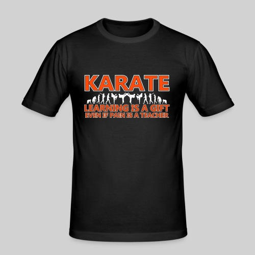 Karate double evolution (6) - Men's Slim Fit T-Shirt
