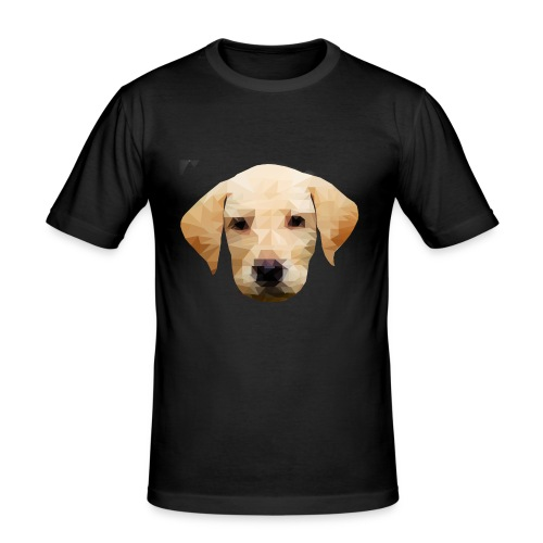 LowPolyDawg - Herre Slim Fit T-Shirt