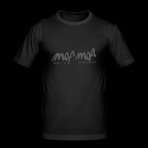 mof mof - Männer Slim Fit T-Shirt