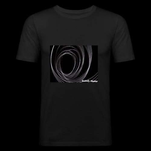 Lightpainting 2 - Männer Slim Fit T-Shirt