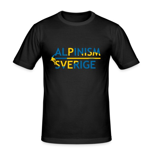 Alpinism Sverige - Slim Fit T-shirt herr