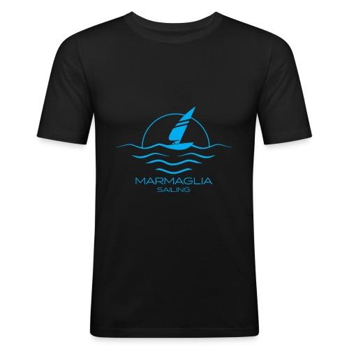 Marmaglia Basic Logo - Maglietta aderente da uomo
